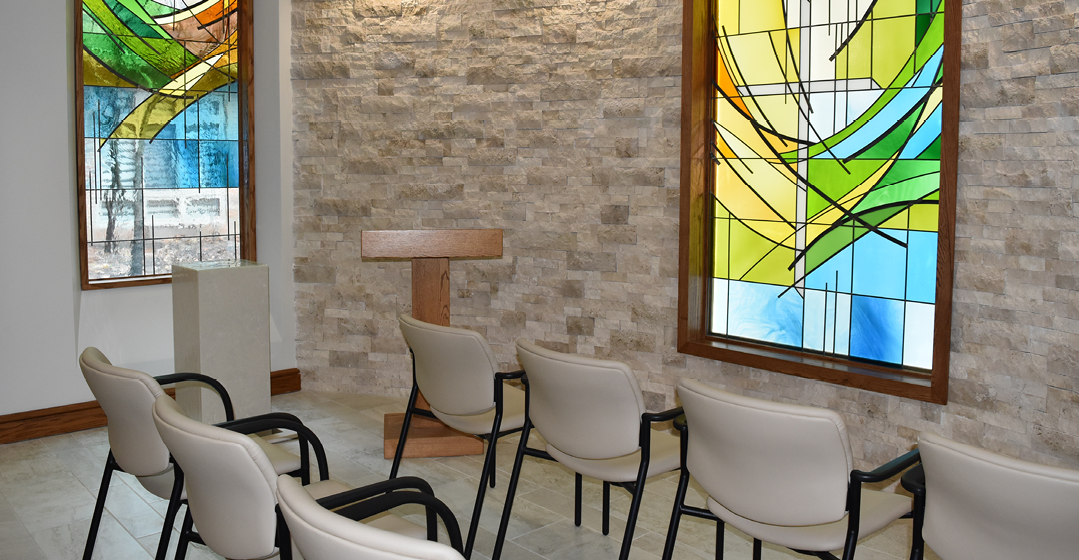 New Chapel Full Of Serenity And Symbolism