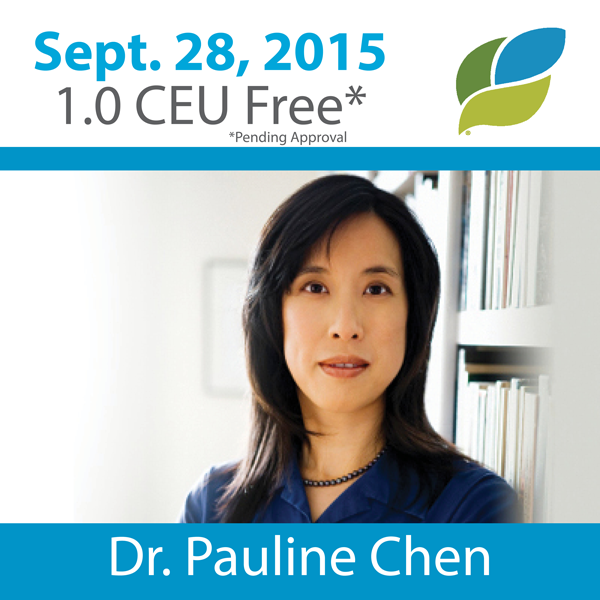 "Pauline Chen, MD, Examines ""Compassion, Community And Patient Care"""