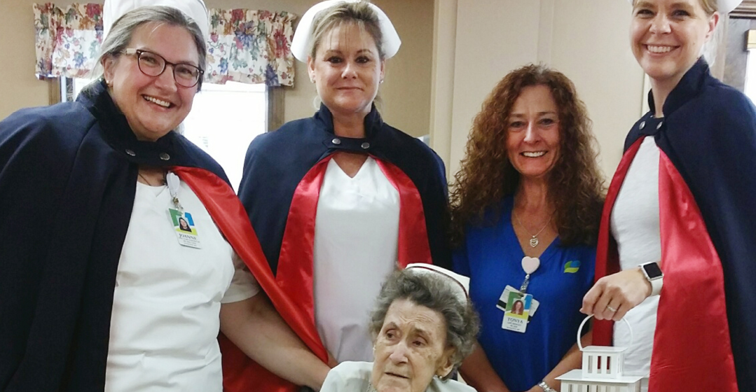 Nursing Honor Guard Recognizes Caregiver For Career Contributions