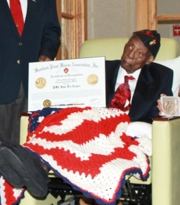 "During Black History Month, we highlight John Lee ""Jack"" Cooper, who was presented with the Congressional Gold Medal. We honor him at our American Pride Memorial."