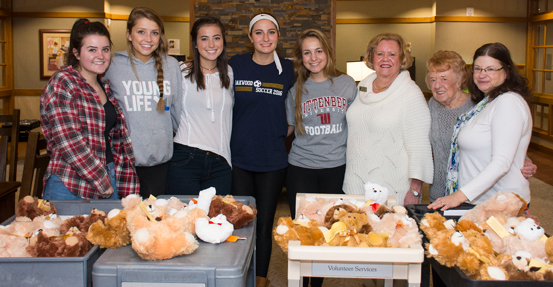 Bears, Bears, Bears At Ohio's Hospice Of Dayton