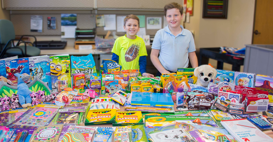 Nine-Year-Olds Celebrate With Charitable Giving