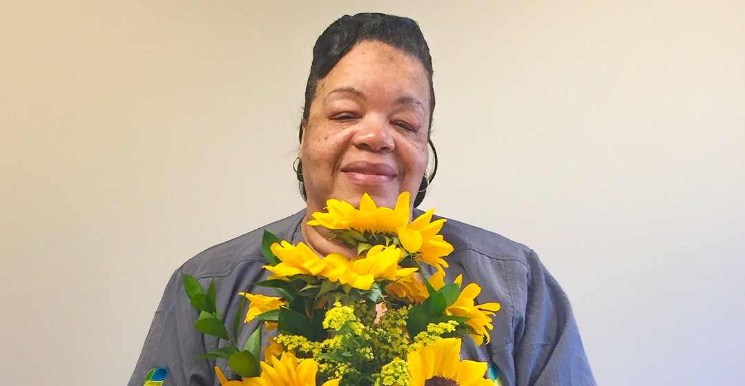 Janice Booker Earns Sunflower Award