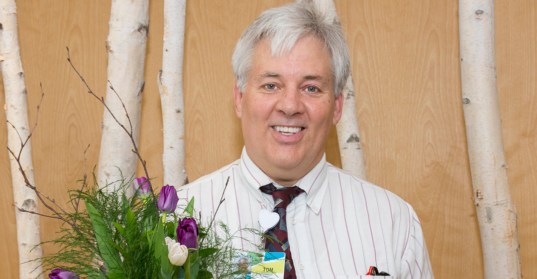 Chaplain Tom Myers Earns Tulip Award
