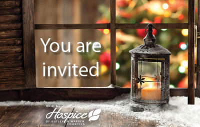 Ohio's Hospice Of Butler & Warren Counties Offers Holiday Grief Support Program