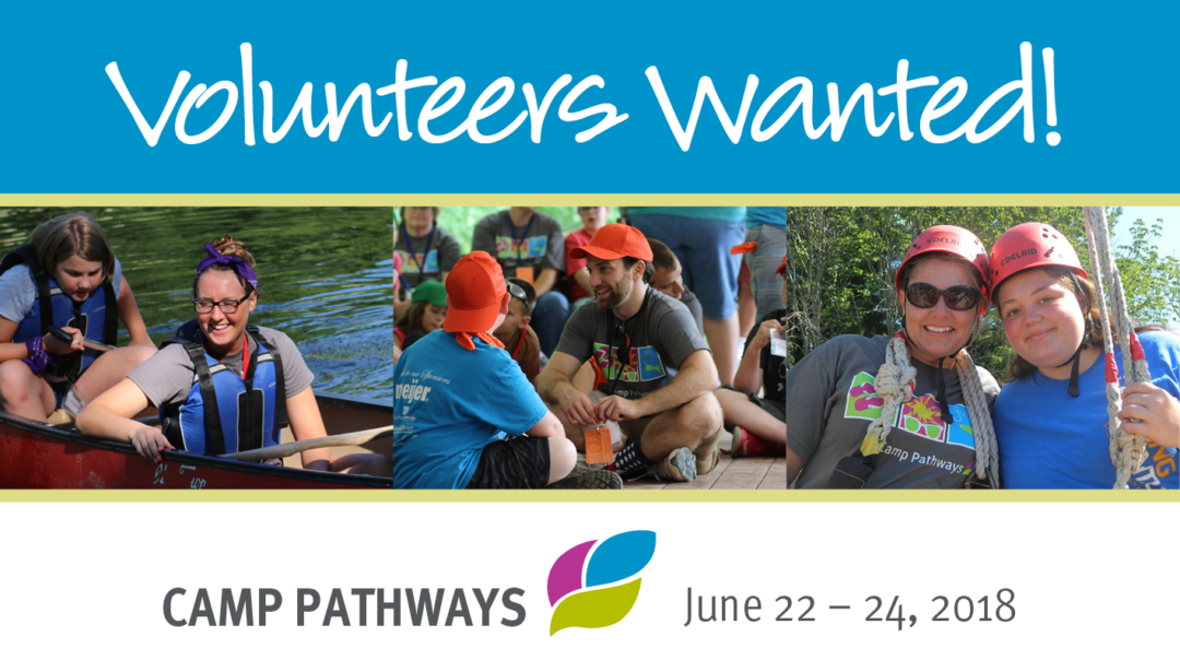 Help A Grieving Child – Volunteers Needed For Camp Pathways