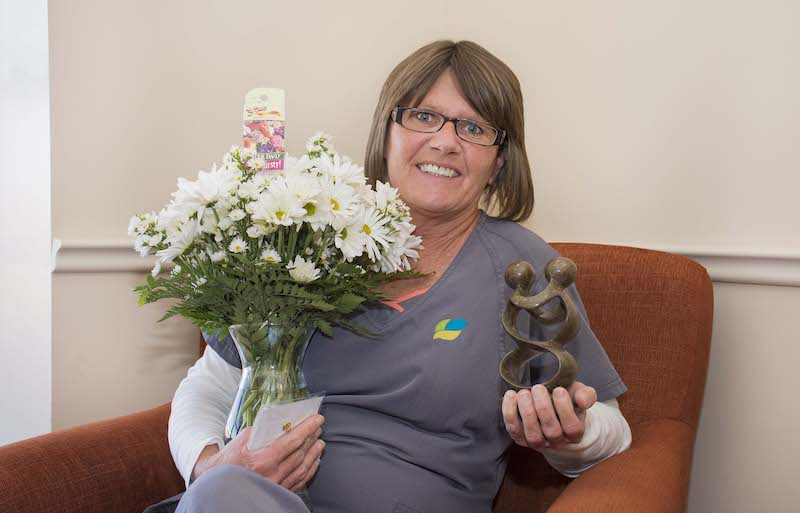 Rhonda Dunlevy Honored With Daisy Award