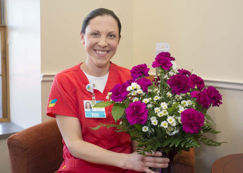 Carnation Award Presented To Heather Kyer