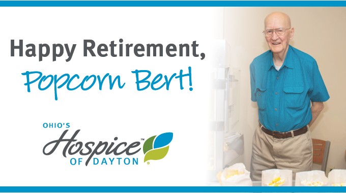 Popcorn Bert Retires After Almost 12 Years Of Popping Popcorn And Delivering Mail