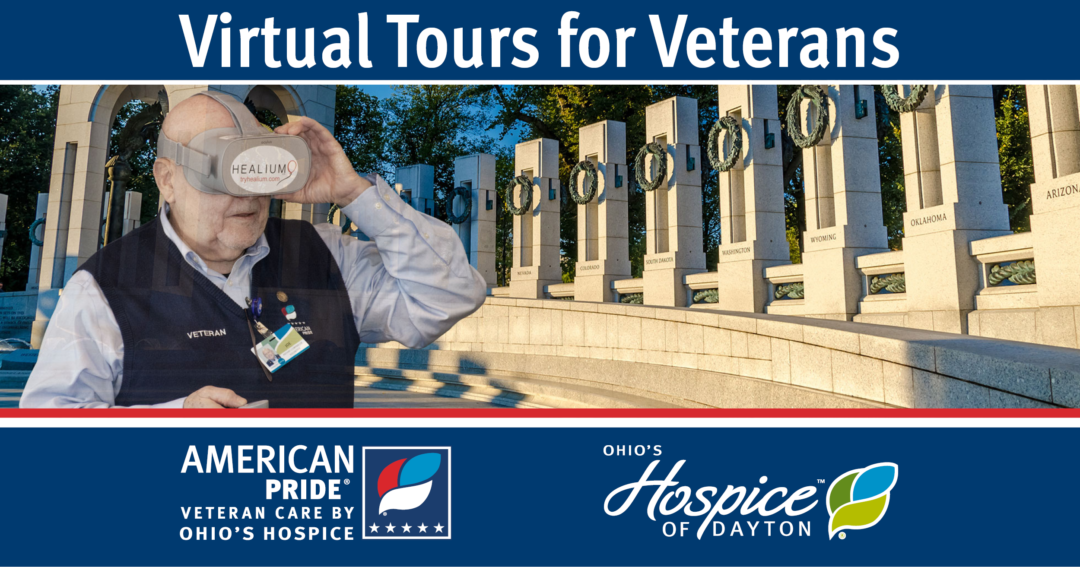 Ohio's Hospice Offers Veterans A Virtual Tour Of The National Mall In Washington, D.C., During Memorial Day Weekend